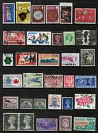 BRITISH COMMONWEALTH---Collection Of USED DL-649 - Collections (without Album)