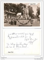 4037 AK/PC/ CARTE PHOTO/767/ASIE/CAMBODGE/PHOTO UN CORTEGE FUNEBRE DANS LA RUS DE SCHOUAN LEUL - Cambogia