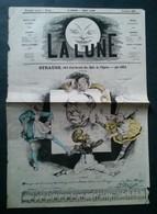 La Lune Strauss Chef D'orchestre Des Bals De L'opéra Par Gill. Troisième Année No 44, 6 Janvier 1867 - Newspapers