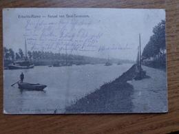 FELDPOST / Ertvelde-Rieme, Kanaal Van Gent Terneuzen --> 1915 - Evergem