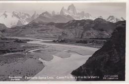 Argentine Carte Photo Patagonie Territorio Santa Cruz Cerro Fitz Roy Photo Kohlmann N°209 - Argentina