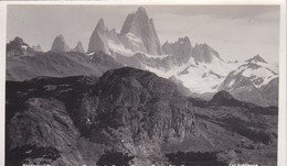Argentine Carte Photo Patagonie Territorio Santa Cruz Cerro Fitz Roy Photo Kohlmann N°234 - Argentina