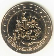 Monnaie De Paris 77.Disneyland 1 Mickey Et Le Chateau 2006 M - Monnaie De Paris