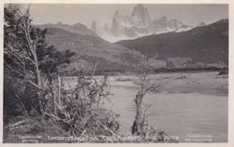 Argentine Carte Photo Patagonie Territorio Santa Cruz Cerro Fitz Roy Photo Kohlmann N°210 - Argentina
