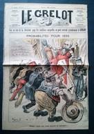 Le Grelot, Probabilités Pour 1895, César Ceux Qui Vont Mourir Te Saluent, 24e Année No 1238, 30 Décembre 1894. - Newspapers