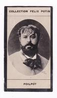 Petite Photo 1ère Collection Félix Potin (chocolat), Peintre Théophile Poilpot, Phot. Nadar, Paris, Vers 1900 - Album & Collezioni