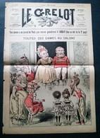 Le Grelot, 27 Juillet 1890, Toutes Ces Dames Au Salon! - Newspapers