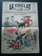Le Grelot, 6 Décembre 1896, Habile Diplomate. - Newspapers