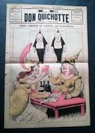 Le Don Quichotte, Pour Arroser Le Gâteau Par Gilbert-Martin, 28 Juin 1890. - Newspapers