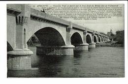 CPA - Carte Postale - FRANCE -Avignon- Nouveau Pont En Pierre-1914 -S3454 - Avignon