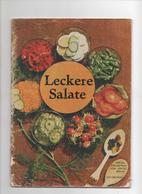 LECKERE SALATE - VERLAG DER FRAU 1975 - Food & Drinks