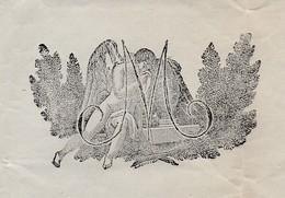 Faire-part Illustré / Décès 1838  / 43 Le Puy / Haute-Loire / Pierre PASQUET - Décès