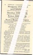 DP. OORLOG 40-45  - PERSONEN DOOR LUCHTBOMBARDEMENT OMGEKOMEN TE NIEUWPOORT 1944 - Religion & Esotérisme
