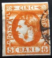 ROUMANIE                    N° 21                     OBLITERE - 1858-1880 Fürstentum Moldau