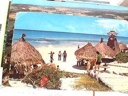 MEXICO PLAYA CHAC MOOL  CANCUN STAMP TIMBRE SELO BICICLETAS 1,60 CONDUCTORE ELETTRICOS 1 $ GX5762 - Messico