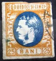 ROUMANIE                    N° 24                     OBLITERE - 1858-1880 Fürstentum Moldau