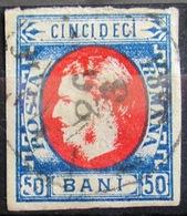 ROUMANIE                    N° 25                     OBLITERE - 1858-1880 Fürstentum Moldau