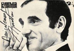 CPM Charles Aznavour, SINGER (768763) - Zangers En Musicus