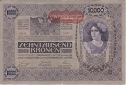 BILLETE DE AUSTRIA DE 10000 KRONEN  DEL AÑO 1918 (BANK NOTE) - Austria