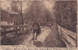 AK Heimkehr - Bauer Und Kinder - Künstlerkarte - 1905 (37770) - Gruppen Von Kindern Und Familien