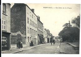 PORT-BAIL - Coin De La Place - Homme à Cheval - Commerces - RIGOT Café Restaurant, Etc... - Vente Directe X - Sonstige Gemeinden
