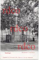 CHILE Santiago, Monumento I.M. Infante - Cile
