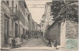 La Côte-Saint-André (38) - La Poste Et Rue Bayard - La Côte-Saint-André
