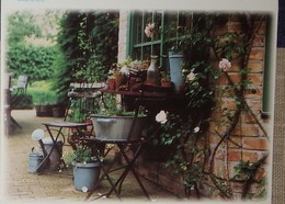 Petit Calendrier De Poche 2004 Jardin Pots Arrosoir Rosier... - Calendars