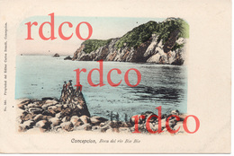 CHILE Concepción, Boca Del Río Bio Bio - Chile