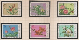 Macau Portugal China Chine 1983 - Plantas Medicinais Regionais - Medicinal Plants - Set Complete - Mint Condition MNH** - Macau