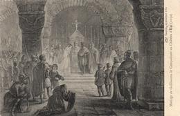CPA 76 MARIAGE DE GUILLAUME LE CONQUERANT AU CHATEAU D' EU 1050 - Eu