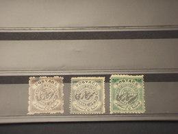 FARIDKOT - SERVIZIO - 1909 CIFRA 1/4-1/4-1/2 -  NUOVI S.G./TIMBRATI/USED - Faridkot