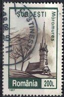 Roumanie 1997 Oblitéré Used Eglise De Surdesti Maramures - 1948-.... Republiken