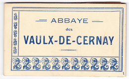 Abbaye Des Vaulx Vaux De Cernay,78: Carnet De 10 Cartes Postales En Excellent état - Vaux De Cernay