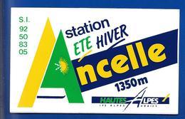 A.C. ANCELLE Hautes Alpes - Stickers