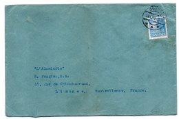 Danemark -1932-Lettre De ODENSE  Pour LIMOGES (France) -timbre --cachet -- - 1913-47 (Christian X)