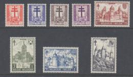 Belgium 1951 - Michel 914-921 Mint Hinged - Neufs