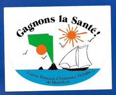 A.C. GAGNONS LA SANTE CPAM Du MORBIHAN - Stickers