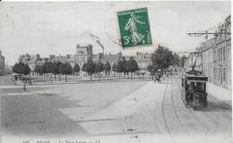 51-3- REIMS - LA PLACELUTON - TRAMWAY - Reims