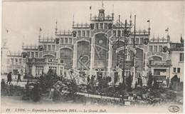 Lyon (69) - Exposition Internationale 1914 - Le Grand Hall - Lyon