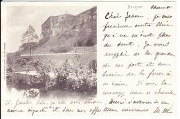 BELFORT:Le Château. Précurseur Juin 1900. Imp Weick N° 870 - Belfort - Ville