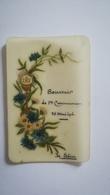 BELLE CARTE CELLULOID SOUVENIR 1ère COMMUNION 27 MAI 1906 - Religion & Esotérisme