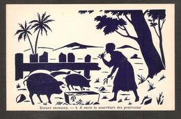 Fantaisie - Enfant Prodigue - 6 Il Envie La Nourriture Des Pourceaux - Cochons