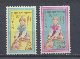 Bhutan 1963 Mi: 17-18 Yt: 17-18 (PF/MNH/Neuf Sans Ch/**)(3881) - Bhutan