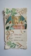 CARTE SOUVENIR 1ère COMMUNION LUCIE ANDRAULT 1 MAI 1910 - Religion & Esotérisme