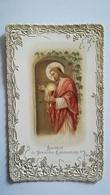 BEAU CANIVET CARTONNE SOUVENIR 1ère COMMUNION DANIEL GAZEAU 16 MAI 1909 - Religion & Esotérisme