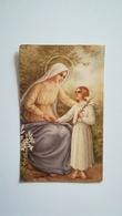 IMAGE PIEUSE MARIE ? AVEC FILLETTE - Religion & Esotérisme