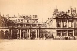 La Commune De Paris Palais Royal Palace Ancienne Photo Loubere 1871 - Photographs