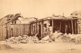 La Commune De Paris Porte De Saint Cloud Ruines Ancienne Photo Loubere 1871 - Photos