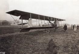 France Aviation Biplan Savary Moteur Labor Ancienne Photo Rol 1910 - Aviation